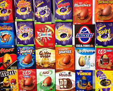3 x Large Easter Eggs Randomly Assorted Lucky Dip Chocolate Selection Box Gifts