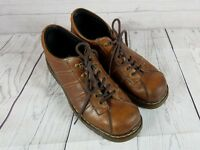 DR. MARTENS Mens Brown Leather Lace Up Oxford Shoe 11306 Size 13 US