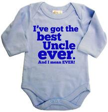 Peleles y bodies de manga larga en azul para niños de 0 a 24 meses