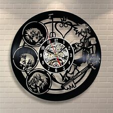 Kingdom Hearts Anime_Exclusive Wall Clock Made Of Vinyl Record_GIFT 191 Part 55