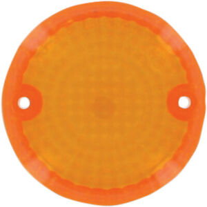 K&S Technologies Replacement Turn Signal Lens - Amber   25-2020