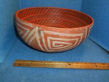 "St. John's Polychrome Bowl, 10"" in diameter x 5 1/4"" in height. ABA-15296"