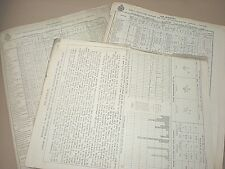 NOVEMBER 1929 DAILY WEATHER REPORTS. MAPS, CHARTS etc. AIR MINISTRY & MET OFFICE