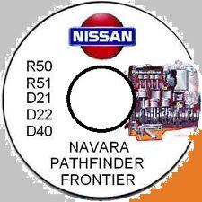 NISSAN NAVARA D21 D22 D40 R50 NAVARA PATHFINDER PICKUP MASTER REPAIR MANUA