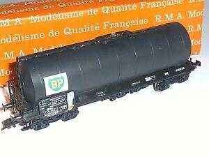 RMA 271 ? Wagon Citerne à bogies SNCF TRANSRAIL Pétrolier BP Train électrique HO