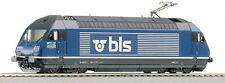 "Roco 62695 Elektrolok Re 465 011-5 "" Wisenberg"" du BLS HO/DC Neuve"