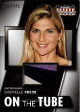AMERICANA 2015 MATERIALS CARD GABRIELLE REECE 253/495