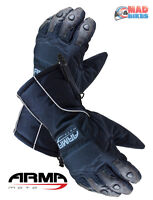 New ARMR Moto WP220 Thermal Motorbike / Motorcycle Gloves, Waterproof Windproof