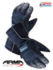 New ARMR Moto WP220 Thermal Motorbike / Motorcycle Gloves, Waterproof Windproof