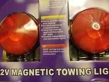 Magnetic Trailer Towing Lights 12 Volt 12V RV Boat Brake Tail Turn Signal new GS