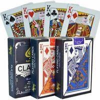 Playing Cards 1Paquet Cartes à Jouer En PVC Jeu De Société Texas Poker Blackjack
