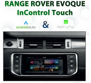 Range Rover Evoque - InControl Touch Integrated CarPlay & Android auto