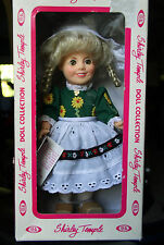 "Vintage 1982 Ideal Classic Doll Shirley Temple ""Heidi"" NRFB original Dress H.Tag"