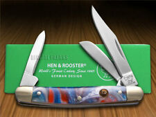 Hen & Rooster Small Stockman Knife Star Spangled Banner 303-STAR