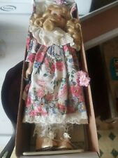 "16"" Vintage Porcelain Doll In Box Madison"