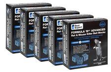 Pest Expert® Rat Killer Poison Bait Blocks x 75 Strong Rodent Poison (1.5kg)