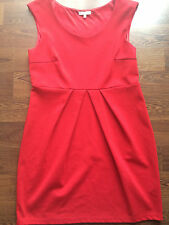 Women's/Ladies New Look Red Sleveless Formal Stretch Dress in Size 14