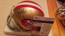 STEVE YOUNG signed 49ers mini helmet JSA COA