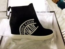 DKNY Women's CASSIE Suede Wedge Sneakers size 5.5