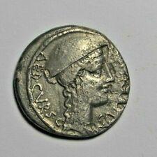 Roman Republic, Cn. Plancius, denarius 55 BC, Macedonia right/Cretan goat