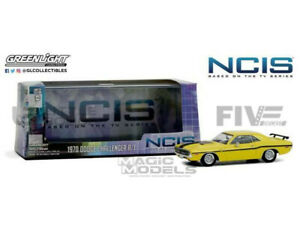 GREENLIGHT COLLECTIBLES 1/43 - DODGE CHALLENGER R/T - NCIS 1970 - 86579