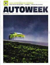 Autoweek© Magazine April 23 2018 Aston Martin Vantage Auto Shows Benz E400 Wagon