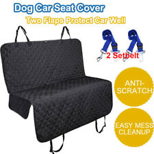 More details for waterproof car rear back seat cover pet dog auto protector hammock mat uk fast