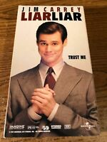 Liar Liar VHS VCR Video Tape Movie Used Jim Carrey