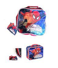 Kids Ultimate Spiderman School Insulated Lunch Bag Child Kids Marvels Superhero