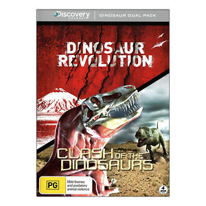 Dinosaur Revolution / Clash of the Dinosaurs New DVD (4 Disc Set) Free Post