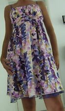 NEW RUBY ROX PURPLE FLORAL SUMMER DRESS Size 6/8