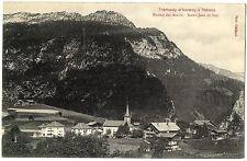 CPA 74 Haute-Savoie Tramway d'Annecy à Thones Routes des Aravis St Jean de Sixt