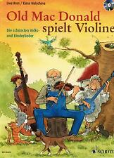 Violine Noten : Old Mac Donald spielt Violine Kinderlieder mit CD LEICHT (Geige)