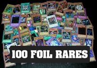 100 YUGIOH FOIL RARE HOLO CARDS COLLECTION! FOILS ONLY!
