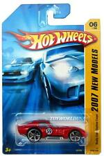 2007 Hot Wheels #06 New Models Shelby Cobra Daytona Coupe red