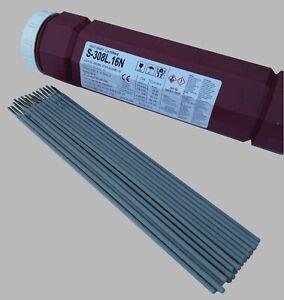 Schweißelektroden Edelstahl 1.4316 (308L) VA V2A INOX NIRO Stabelektroden
