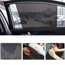 2Pcs 42*38cm Car Side Rear Window Sun Block Static Cling Shade Visor Shield