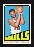 1972-73 Topps #127 Howard Porter Chicago Bulls Basketball ROOKIE Card NM+