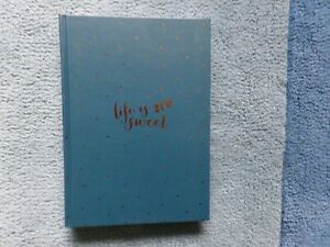 Kikki K - Brand New - A5 Index Journal - Life is Sweet