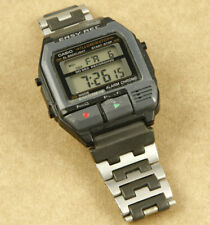 Casio F-V2 Voice Recorder Japan Vintage Digital Watch 39mm