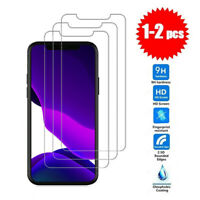 2X For iPhone 12/12 Pro max mini Premium Tempered Glass Screen Protector Film