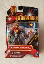 Marvel Iron Man 2 Comic Series Ultimate Iron Man Hasbro #36 Action Figure Y2010