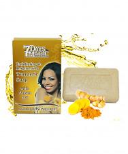 7 Days Magic Tamarin & Turmeric Exfoliating Soap (200gr)