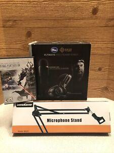 Yeti Blue Microphone Blackout Ultimate Pro Streamer Bundle ++Bonus Mic Arm FFXIV