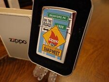 1998 ZIPPO/CASE KNIFE SWAP MEET ZIPPO LIGHTER MINT IN BOX