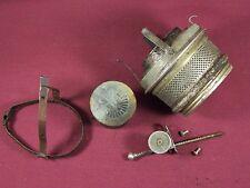 Antique P & A Royal Oil Lamp w/ Burner Flame Spreader Knob Parts