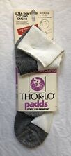 New Vintage Thorlo Padds Ultra Thin Cycling CMC-12 Socks Size 11-12 Made In USA!