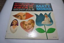 Matt Monro (LRP 3240) My Kind of Girl - Audition Recording