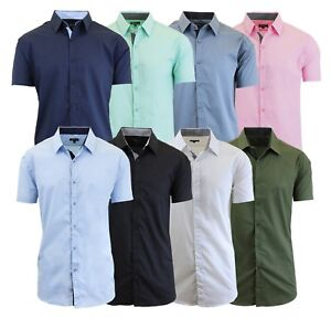 Qinnyo Mens T Shirt for Tops Fashion Summer Slim Casual Zipper Fit Patchwork Short Sleeve Blouse Pullover Tees M-3XL