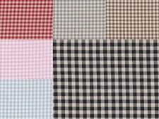 Unbranded Gingham Craft Fabric Fat Quarters, Bundles